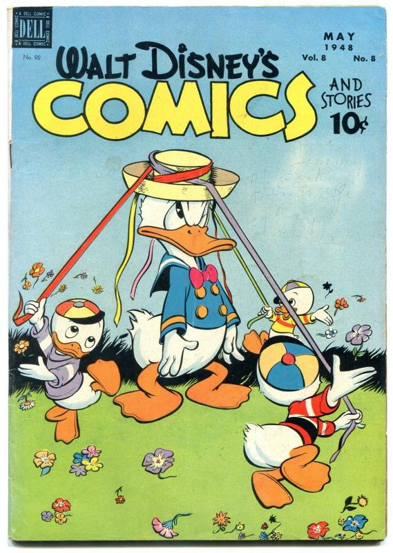Walt Disney's Comics and Stories #92 1948- Donald Duck VG+