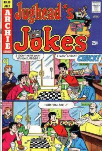 Jughead's Jokes #39, VG+ (Stock photo)
