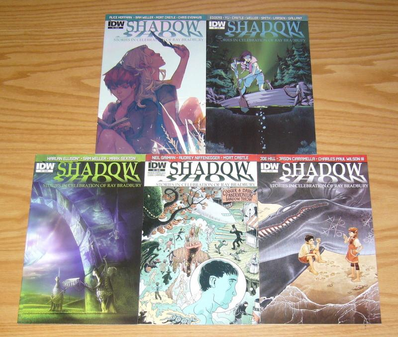Shadow Show: Stories in Celebration of Ray Bradbury #1-5 VF/NM complete series