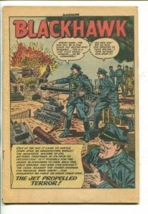 BLACKHAWK #77-1954-QUALITY-JET PROPELLED TERROR-fr