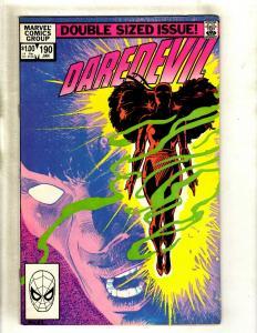 Daredevil # 190 NM- Marvel Comic Book Frank Miller Elektra Bullseye Hand HY1
