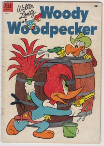 Woody Woodpecker #21 (Oct 1953) 3.0 GD/VG Dell