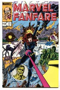 Marvel Fanfare #11 1st appearance of Iron Maiden 1983 NM-