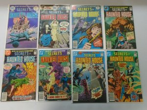 Secrets of Haunted House lot 12 from #2-41 + Special avg 5.0 (1975 DC Horror)