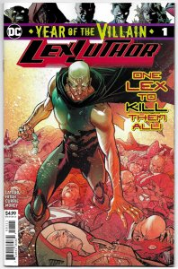 Year Of The Villain Lex Luthor #1 (DC, 2019) NM