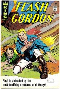 FLASH GORDON #5 (May1967) 8.0 VF [KING] Archie Goodwin! Al Williamson! Springer!