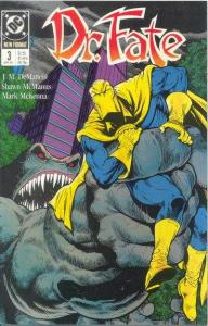 Doctor Fate (1988 series) #3, VF (Stock photo)