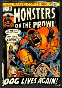 Monsters on the Prowl #20 (1972)