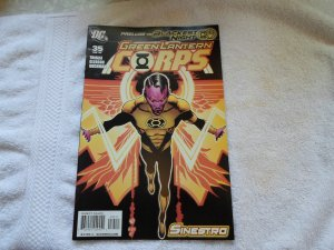 DC COMICS GREEN LANTERN CORPS # 35 ( 2009 )