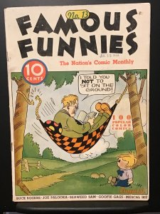 Famous Funnies #13 (1935) VG + 4.5
