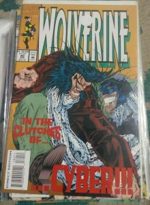 Wolverine #80 1994 Marvel KEY 1ST X-23 TEST TUBE CLONE  CYBER