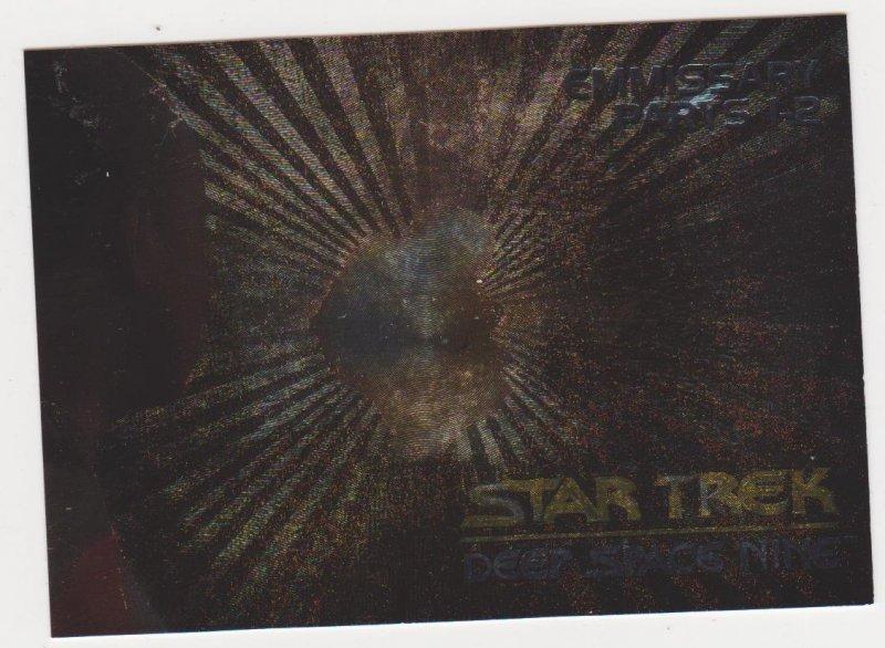 1993 Star Trek Deep Space 9 Spectra Card #S2 The Emmissary Part 1&2