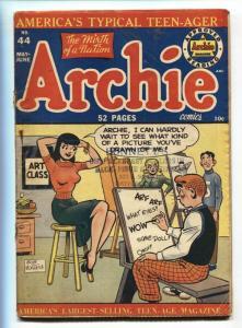 ARCHIE #44--1950-BOB MONTANA-SPICY-BETTY-VERONICA-G