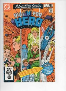 ADVENTURE COMICS #482, NM-, Dial H for Hero, 1938 1981, more in store
