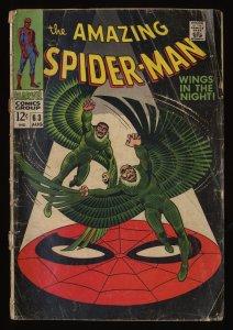 Amazing Spider-Man #63 GD- 1.8 Vulture! Marvel Comics Spiderman