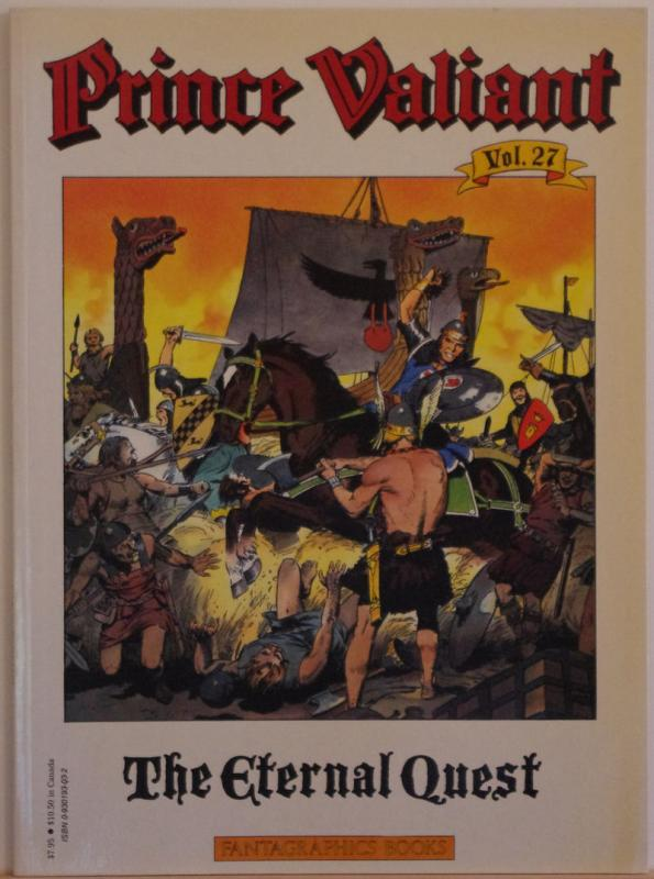 PRINCE VALIANT #27, SC, VF, 1st print, 1985, Hal Foster, Fantagraphics