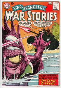Star Spangled War Stories #120 (May-65) FN/VF+ High-Grade Dinosaur, the Suici...