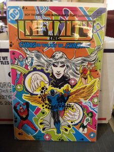 Infinity Inc #14 NM Chaos In The Key ...Chroma!