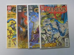 Genesis (1997 DC) Set:#1-4, 8.0/VF (1997)