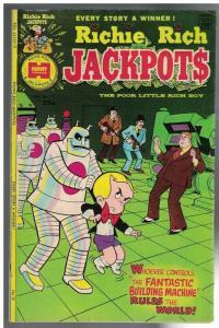 RICHIE RICH JACKPOTS (1972-1982) 17 VG-F June 1975