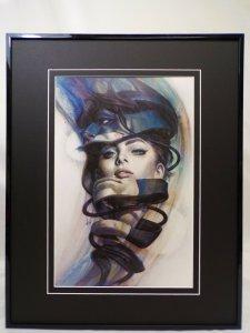 Catwoman #4 Framed 16x20 Poster Display DC Comics Artgerm GGA