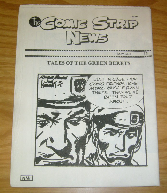 Comic Strip News #15 VF/NM; Quality Comic Art Productions   save on shipping - d