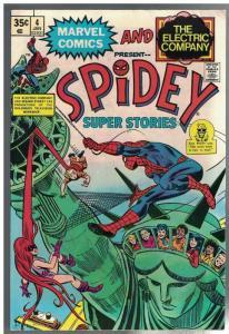 SPIDEY SUPER STORIES 4 FN Jan. 1975