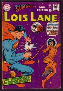 SUPERMAN'S GIRL FRIEND LOIS LANE #81 1968 SCI-FI ISSUE VG