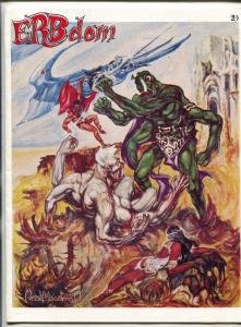 ERB-Dom fanzine #23 1968- Tarzan- Edgar Rice Burroughs