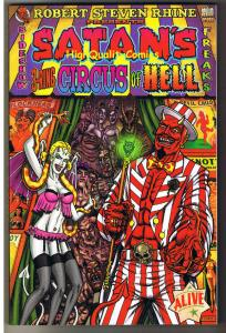 SATAN'S 3-RING CIRCUS of HELL, TPB, GN,1st, NM, 2005, Tim Vigil, Steve Bissette