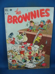FOUR COLOR 365 THE BROWNIES VG F 1951