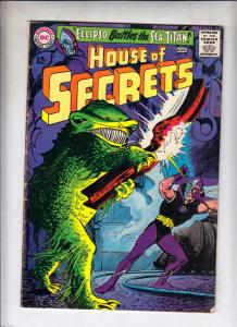 House of Secrets #73 (Aug-65) FN Mid-Grade Eclipso