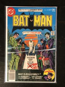 Batman #291 - Classic Villains Cover
