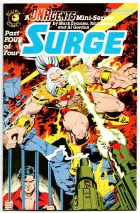 DNAgents Surge #4 (Eclipse, 1985) FN/VF