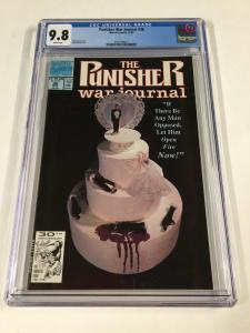 Punisher War Journal 36 Cgc 9.8 White Pages Marvel