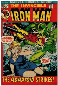 IRON MAN 49 VG-F Aug. 1972 COMICS BOOK