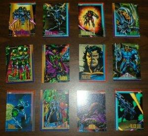 Marvel 1993 Skybox 12 Trading Card Lot