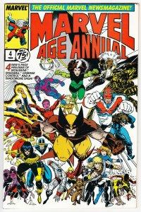 Marvel Age Annual #4 | 1st App Damage Control (Marvel, 1988) VF-