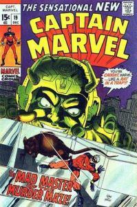 Captain Marvel (1968 series) #19, VG+ (Stock photo)