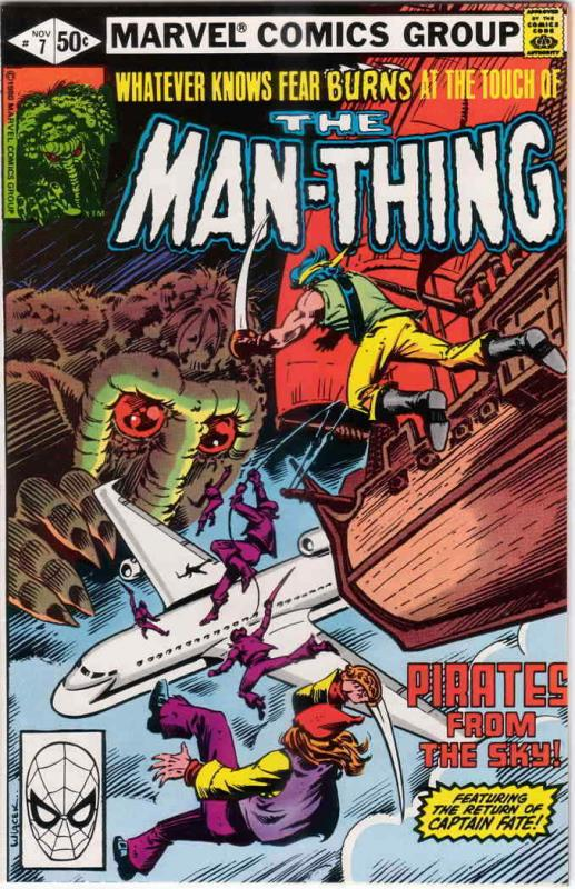 Man-Thing (2nd Series) #7 FN; Marvel | save on shipping - details inside