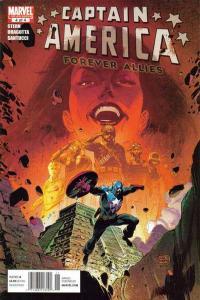 Captain America: Forever Allies #4, NM- (Stock photo)
