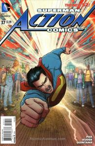 Action Comics (2nd Series) #37 VF/NM; DC | save on shipping - details inside