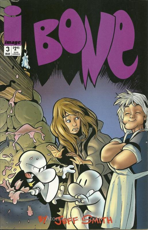 Bone (2nd Series) #3 VF/NM; Image | save on shipping - details inside