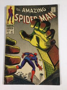 Amazing Spider-man 67 5.0 Vg/fn Very Good / Fine Silver Age Marvel