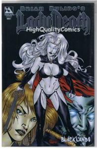 LADY DEATH : BLACKLANDS #2, NM+, Limited, Platinum ,Variant, more LD in store