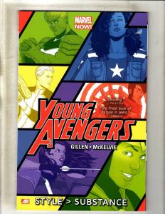 Young Avengers Vol. 1 Style > Substance Comics TPB Graphic Novel Comic Book J361