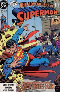 Adventures of Superman #471 FN; DC | save on shipping - details inside