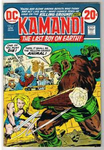 KAMANDI #5, FN, Jack Kirby, Last Boy on Earth, 1972, more JK in store