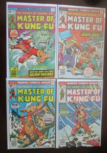 Master Of Kung Fu comic lot from #44 to #57 14 diff books avg 5.0 (1976) covers