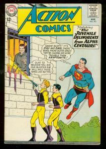 ACTION COMICS #315 1964-SUPERMAN-JUVENILE DELIQUENTS FN